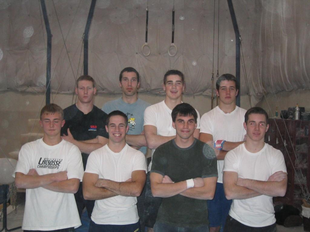 Back (L-R): Jeff Fausz, Joel Hennig, Stu Renz, Scott Provence. Front: Sean Liner, Ben MacColl, Graham Gordon, Ryan Chriswell